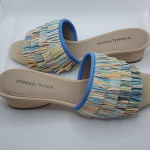 Donald Pliner Women's REISE2-R Slide Sandal